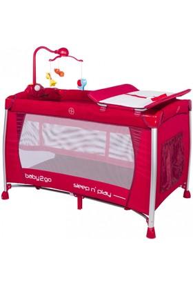 Baby2Go 6103 Oyun Parkı - Kırmızı