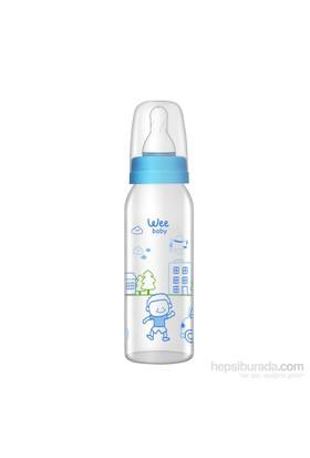 Wee Baby Kulplu Pp Biberon 270Ml - Mavi