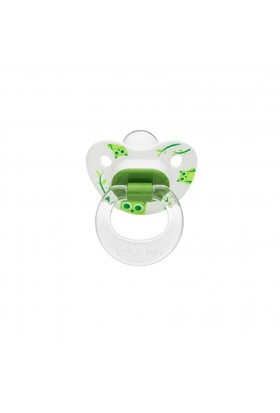 Wee Baby Desenli Damaklı Emzik 6-18Ay / Yeşil