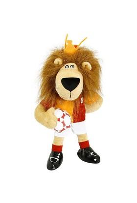 Galatasaray Lisanslı Aslan Kral Figür Peluş Oyuncak 26 Cm