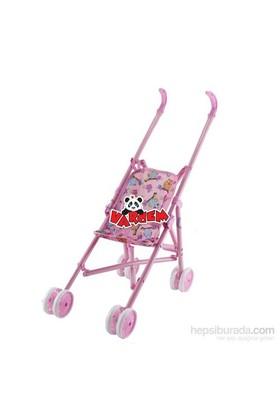 Vardem Renkli Oyuncak Bebek Arabası Metal