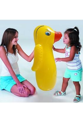 Bluezen Çocuklar İçin Şişme Hacıyatmaz-Ördek