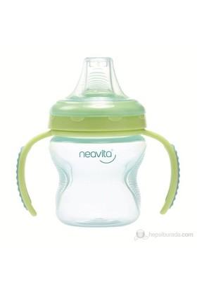 Neavita Damla Akıtmayan Kulplu Alıştırma Bardağı 140ml (BPA%0) 6 Ay+ / Yeşil
