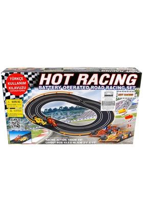 Hot Racing Pilli Yarış Seti