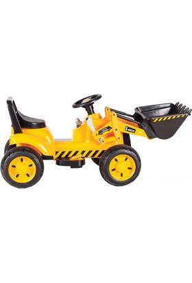 Sunny Baby JCB 4X Akülü İş Makinesi - Sarı