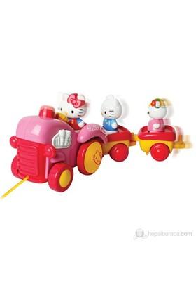 Hello Kitty Çekmeli Traktör Oyun Seti