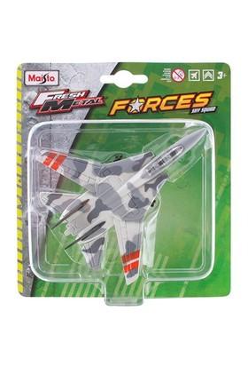 Maisto Metal Forces Askeri Savaş Uçağı F14 Tomcat Model Uçak