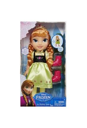 Disney Frozen Ice Skating Bebeğim Anna 35 Cm Model 1