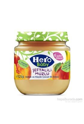 Hero Baby Şeftalili Muzlu Kavanoz Maması 125 gr