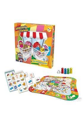 Kırkpabuç Alışveriş Listem Çocuk Kutu Oyunu