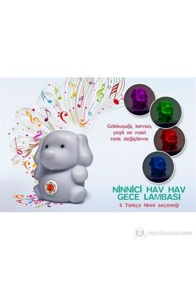 Weewell WLL100 Ninnici Hav Hav - Gece Lambası - 6 Türkçe Ninni
