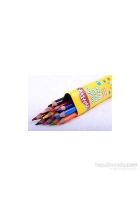 Play-Doh 12 Renk Jumbo Üçgen Kuru Boya / Tüp