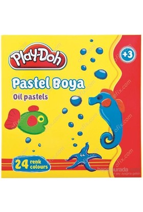 Play-Doh 24 Renk Pastel Boya