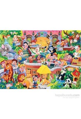 Keskin Color 150 Parça Kutulu Yapboz Neşeli Dünya