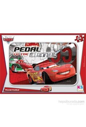 Ks Games 24 parça Cars Frame Puzzle