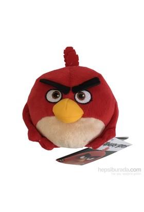 Toyshome Angry Birds Peluş 12 Cm Red