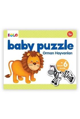 Eolo Baby Puzzle Orman Hayvanları