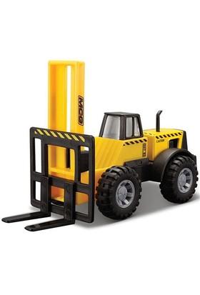 Maisto İnşaat Araçları S.Forklift Metal Gövdeli 11 Cm