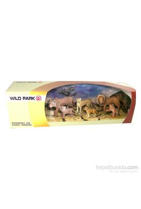 Cc Oyuncak Wild Park Kutuda Altı Parça Vahşi Hayvanlar