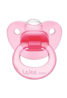 Wee Baby Akide Damaklı Emzik 6-18 Ay /Pembe