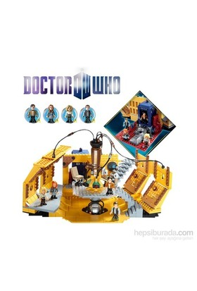 Doctor Who: Character Building Tardis Console Mega Set