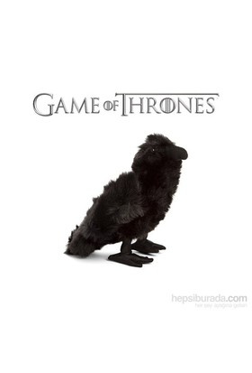 Game Of Thrones 3 Eyed Raven Plush Karga Peluş