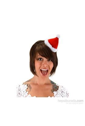 Mini Noel Baba Şapkası