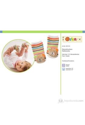 Baby Fehn Çıngıraklı Çorap Teddy