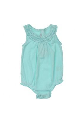 Modakids Bambaki Kız Bebek Fırfırlı Askılı Body 013-0014-019
