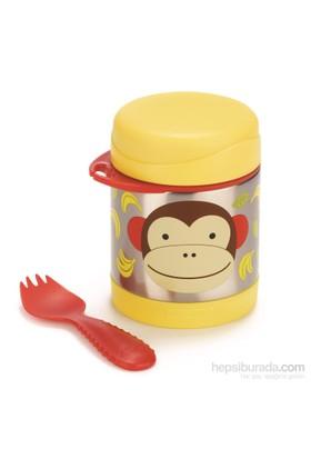 Skip Hop Paslanmaz Çelik Termos Maymun