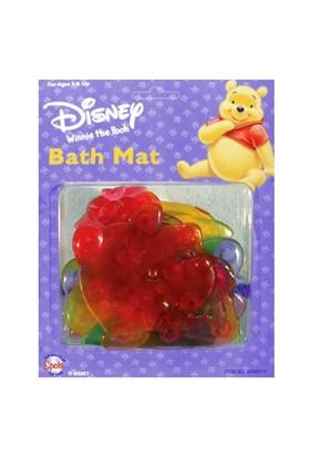 "Winnie The Pooh Rubber ""Bath Mat"" 4 Parça"