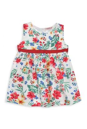 Modakids Bambaki Kız Bebek Kolsuz Dokuma Elbise 013-01218-002