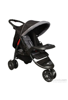 Mcrae Mc 815 Triple Jogger 3 Tekerlekli Lux Bebek Arabası - Siyah