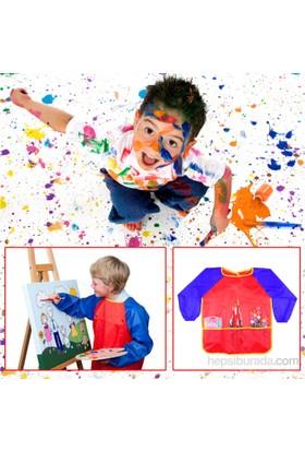 Bluezen Çocuklar İçin Boyama Önlüğü