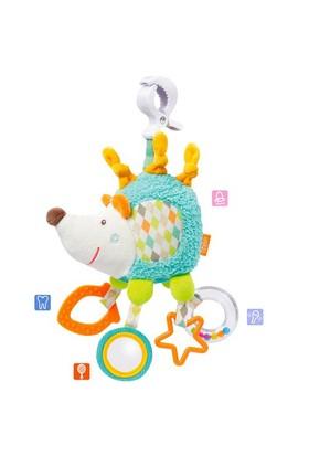 Baby Fehn Kıskaçlı Aktivite Oyuncağı Kirpi