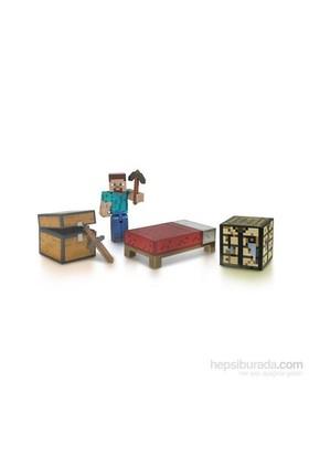 Minecraft Steve Survival Pack Yaşam Seti