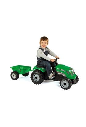 Smoby Römorklu Yeşil Traktör