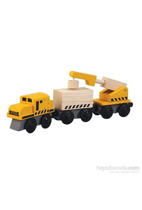 Plantoys Vinçli Tren (Crane Train)