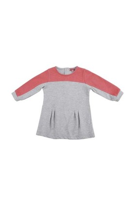 Zeyland Kız Çocuk Gri Elbise K-52Z2gcm31