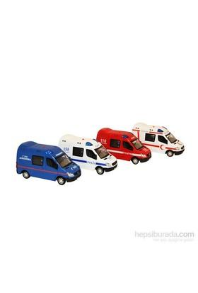 Vardem Ambulans-İtfaiye-Polis Işıklı Sesli 1 32