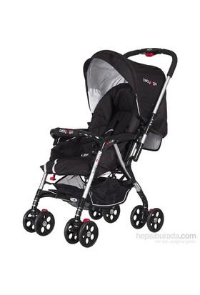 Baby2Go 8899 Proton Bebek Arabası Siyah