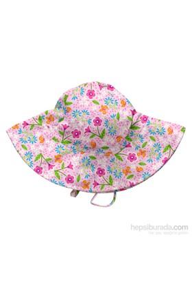 İ Play Upf 50+ Güneş Korumalı Fun Brim Bebek Şapka Pembe