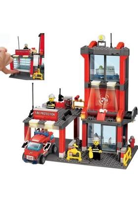 Kazi 300 Parça Lego İtfaiye İstasyonu Oyun Seti