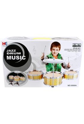 Jazz Drum Music Bateri Seti
