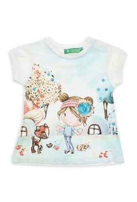 Modakids Cichlid Kız Bebek T-Shirt 038-1040-027