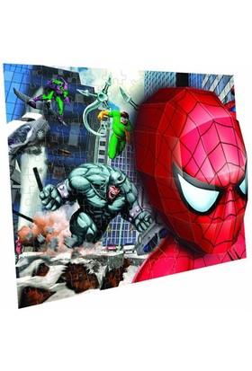 Mega Puzzles 100 Parça 3D Puzzle B. Spiderman Battle