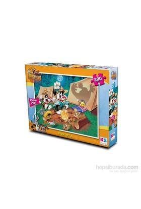 Warner Bros Looney Tunes - Puzzle (Yapboz) 200 Parça
