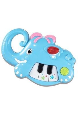 Weidey Işıklı Müzikli Mini Fil Piyano