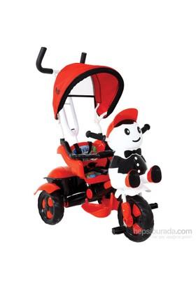 Babyhope 125 Yupi Panda Üç Tekerlekli Bisiklet / Siyah