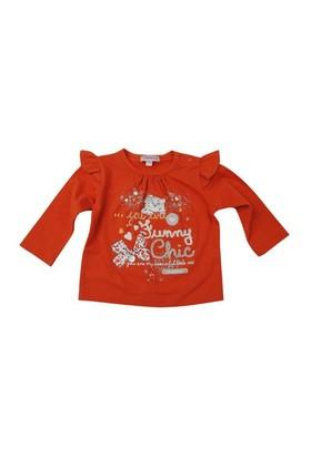 Zeyland Kız Çocuk Turuncu T.Shirt Bis.Yaka K-42M532lgs62